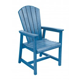 Generations Blue Adirondack Dining Arm Chair