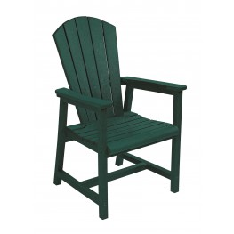 Generations Green Adirondack Dining Arm Chair