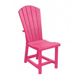 Generations Fuschia Adirondack Dining Side Chair