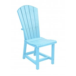 Generations Aqua Adirondack Dining Side Chair