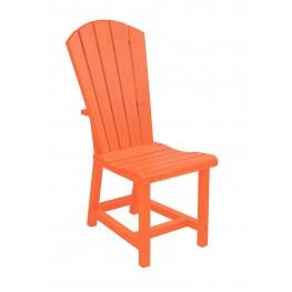 Generations Orange Adirondack Dining Side Chair