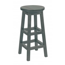Generation Slate Swivel Bar Stool