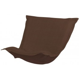 Sterling Chocolate Puff Chair Cover