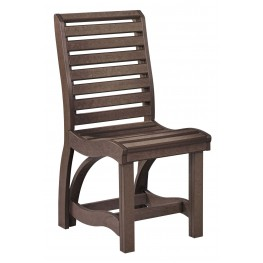 St Tropez Chocolate Dining Side Chair