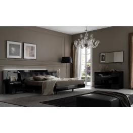 Nightfly Black Bedroom Set