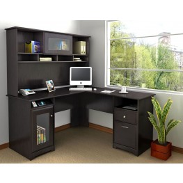 Cabot Espresso Oak L Home Office Set