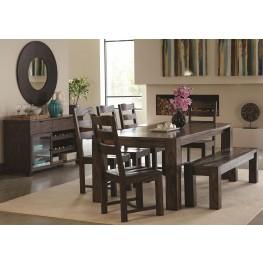 Calabasas Dark Brown Dining Room Set