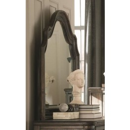 Carlsbad Dark Brown Bevelled Mirror