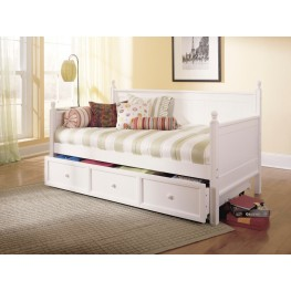 Casey Ii White Twin Size Daybed