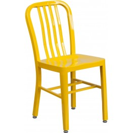 Yellow Indoor-Outdoor Chair (Min Order Qty Required)