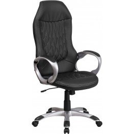 High Black Executive Swivel Office Chair (Min Order Qty Required)