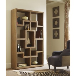Chelsea Cerused Teak Bookcase