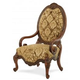 Chateau Beauvais Fabric Wood Chair