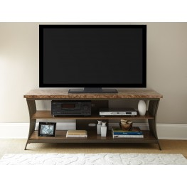 Collison Faux Marble Top TV Console