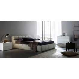 Cloud Beige Bedroom Set