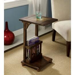 Wilcox Slate-Insert Side Table