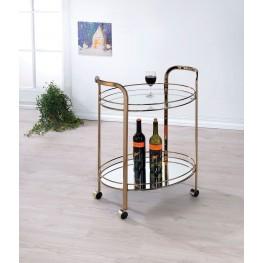 Starla Champagne Serving Cart
