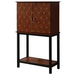 Catlin Cherry Wine Cabinet