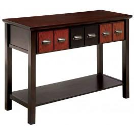 Tenille Walnut and Oak Console Table