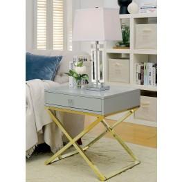 Rhona Gray Side Table