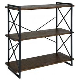 Verdana II Medium Weathered Oak Book Shelf