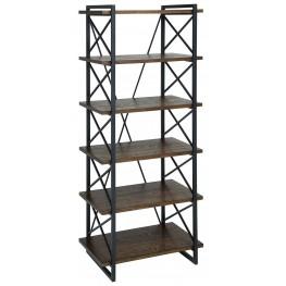 Verdana IV Medium Weathered Oak Display Shelf