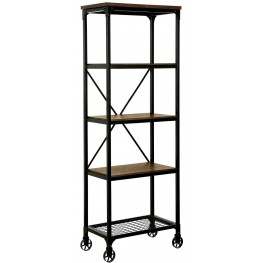 Ventura II Medium Oak Bookshelf Small