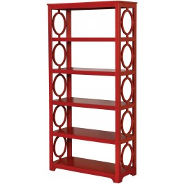 Zoey Red Display Shelf