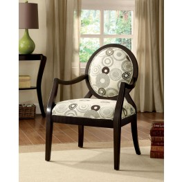 Cairns II Espresso Accent Chair