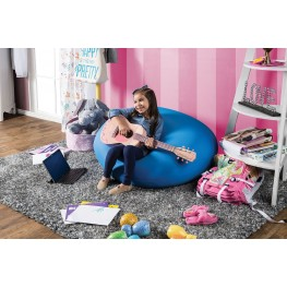 Rimrock Blue Bean Bag Chair