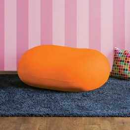 Rimrock Orange Bean Bag Chair