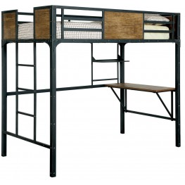 Clapton Twin Bed With Workstation