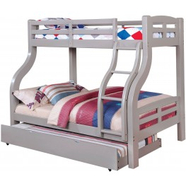 Solpine Gray Twin Over Full Bunk Bed