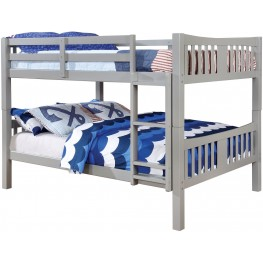 Cameron Gray Full Over Full Bunk Bed