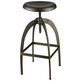 Nia Dark Gray Bar Stool