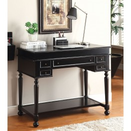 Lexden Black Secretary Desk