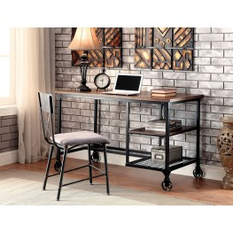 Cori Antique Black Desk
