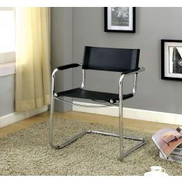 Kramer Black PVC Meeting Chair