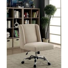 Lisette Ivory Office Chair