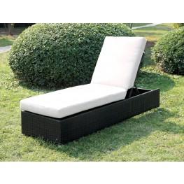 Albee II Ivory Patio Chaise