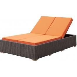Dixie Brown Patio Chaise