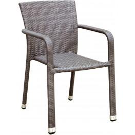 Ayesha Gray Arm Chair Set Of 4