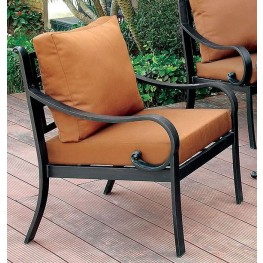 Bonquesha II Black Arm Chair