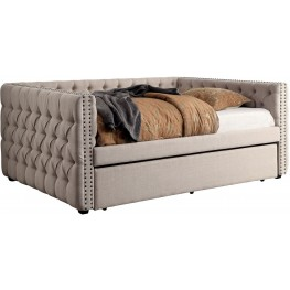 Suzanne Ivory Twin Daybed With Trundle
