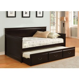 Sahara Espresso Twin Trundle Daybed