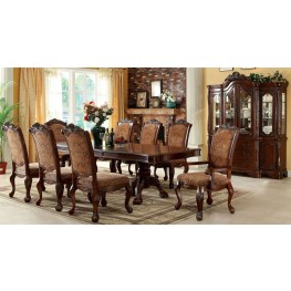 Cromwell Antique Cherry Formal Dining Room Set