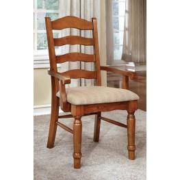 Spring Creek American Oak Arm Chair Set of 2
