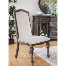 Arcadia Rustic Natural Tone Side Chair Set Of 2