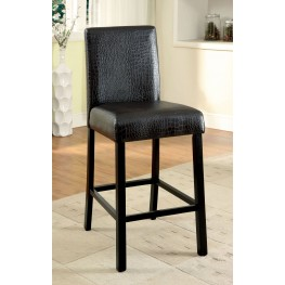 Rockham II Black Counter Height Chair Set of 2