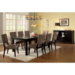 Bay Side I Espresso Rectangular Leg Dining Room Set